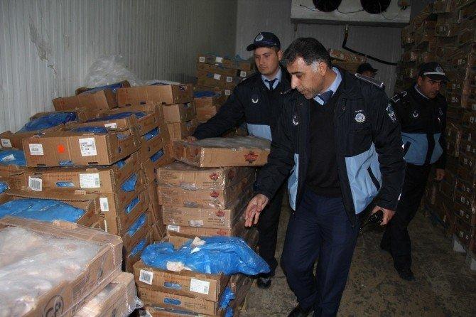 Şanlıurfa'da 2 Ton Kaçak ET Ele Geçirildi