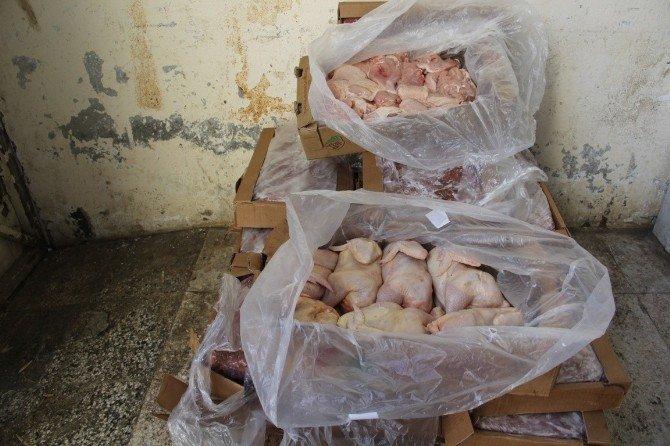 (Düzeltme) Şanlıurfa'da 2 Ton Kaçak ET Ele Geçirildi