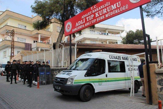 Adlı Tıp Kurumunda İşlemleri Tamamlanan Terörist Cenazeleri Hastane Morguna Konuldu