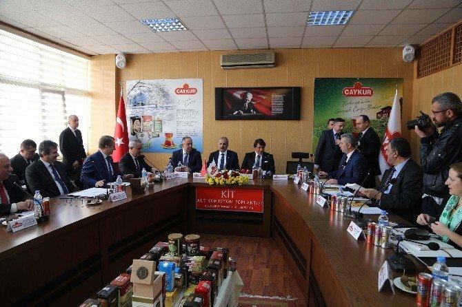 ÇAYKUR KİT Komisyonu Toplantısı