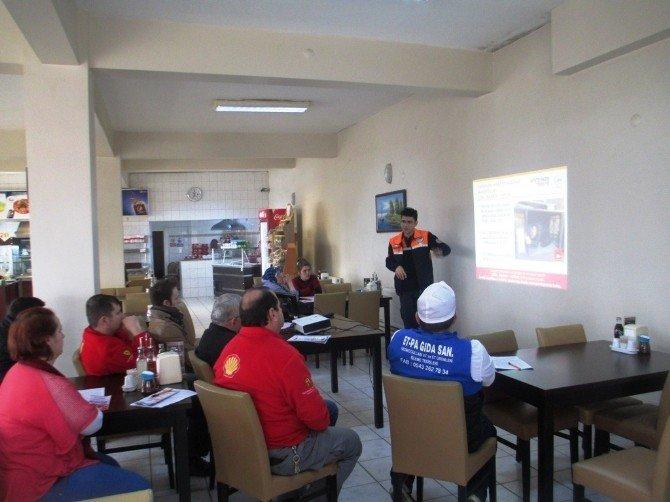 Petrol Şirketi Personeline Afet Bilinci Eğitimi