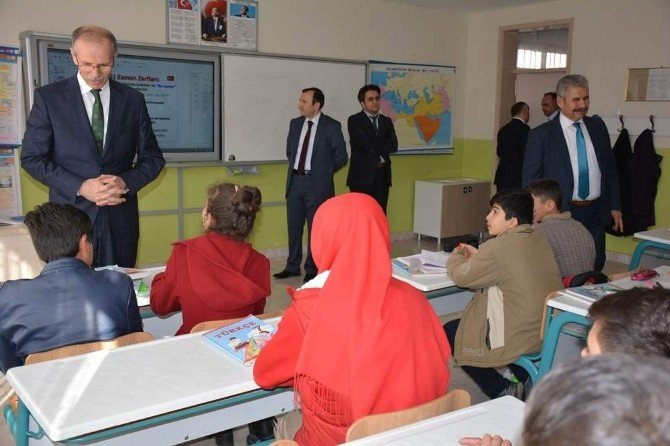 Yozgat Milli Eğitim İl Değerlendirme Toplantısını Şefaatli İlçesinde Yaptı