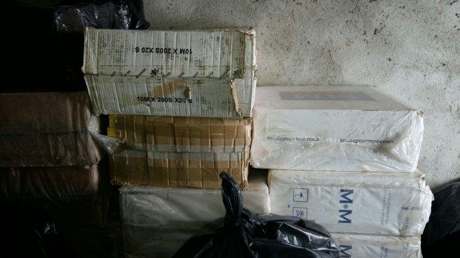 82 bin paket kaçak sigara ele geçirildi