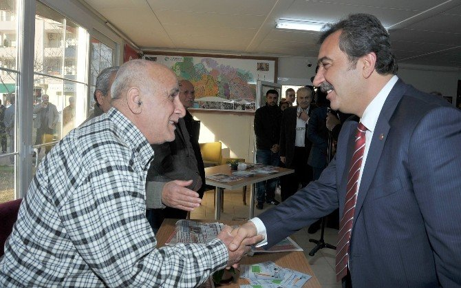 Başkan Çetin Çukurova Emekli Evini Ziyaret Etti