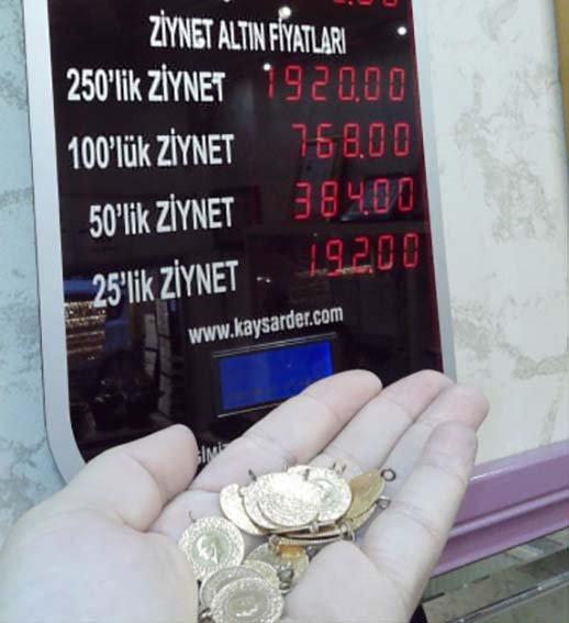 Çeyrek altın fiyatı rekor kırdı, vatandaş kararsız kaldı