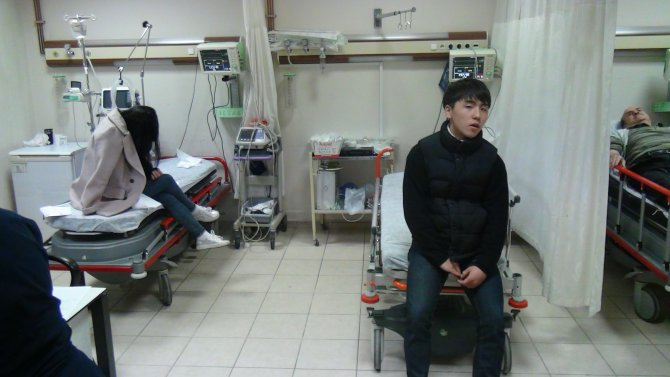 Nevşehir'de 8 Koreli turist hastaneye kaldırıldı