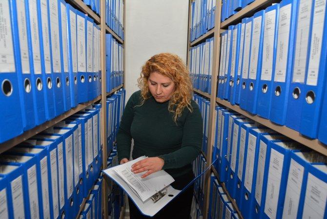 Manavgat Belediyesi arşivi koruma altına aldı