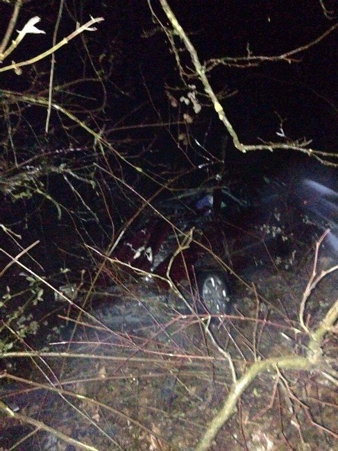Hasta Ziyaretinden Dönen Otomobil Kaza Yaptı: 1 Ölü, 3 Yaralı