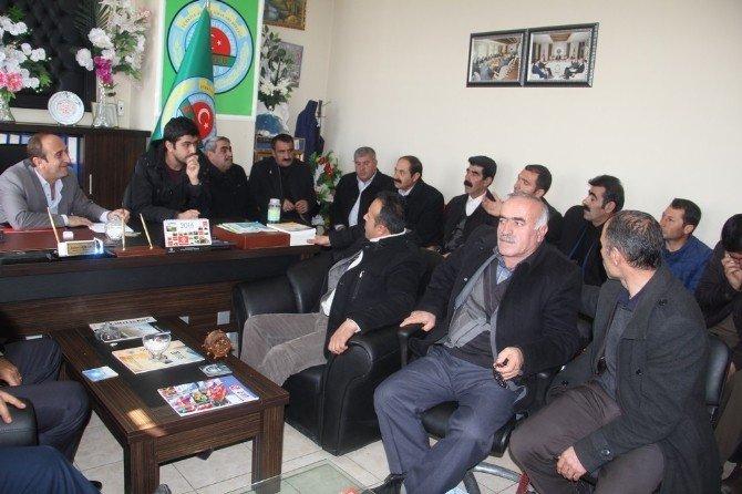 Başkale Ziraat Odası İstişare Toplantısı Yapıldı