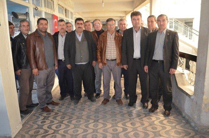 Başkanlardan Kooperatife Ziyaret