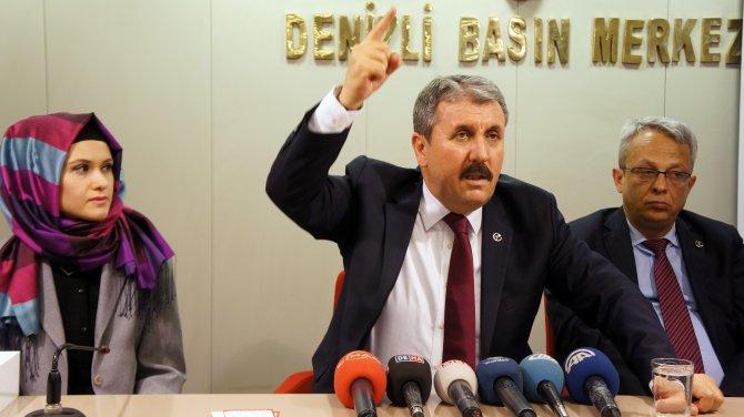BBP Genel Başkanı Destici: Hendekler kazılırken devleti yönetenler ne yapıyordu?