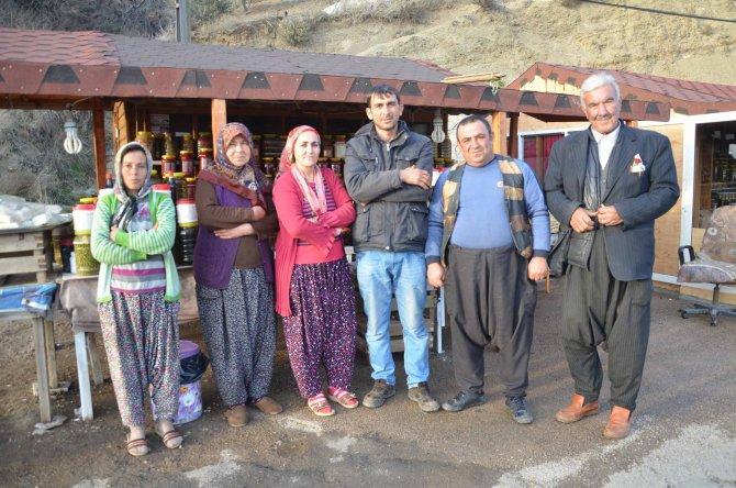 Ahşap evler Kıcı köyü sakinlerinin geçim kaynağı oldu