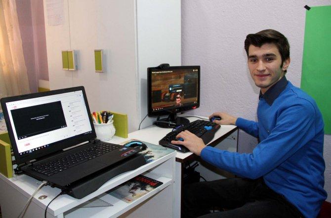 Bursalı genç Türkiye'nin 'Mark Zuckerberg'i olmak istiyor