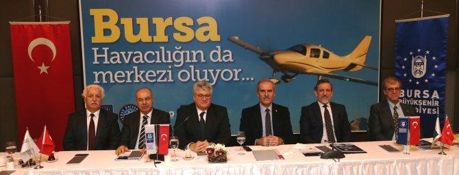 Bursa havacılığın da merkezi oluyor
