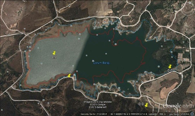 Çomar Barajında Dip Temizliği Yapılacak