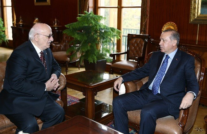 Cumhurbaşkanı Erdoğan'dan TBMM Başkanı Kahraman'a Ziyaret