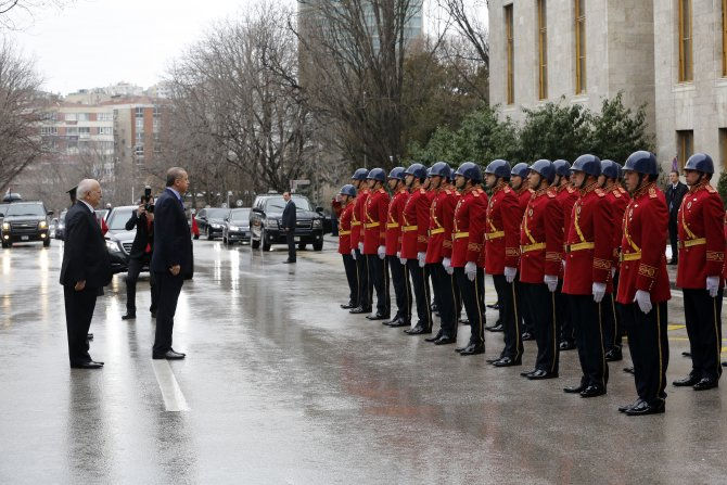 Cumhurbaşkanı Erdoğan, Meclis'te