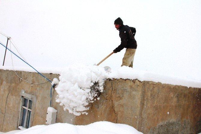 Iğdır Dağ Köylerinde Kara Kış