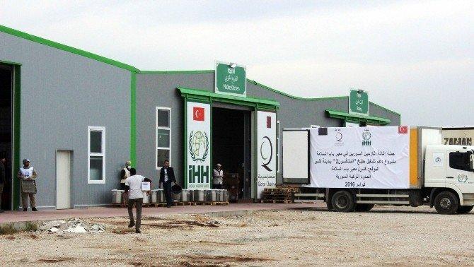 Diyanet Vakfı'nın Yardım Tır'ları Kilis'e Ulaştı
