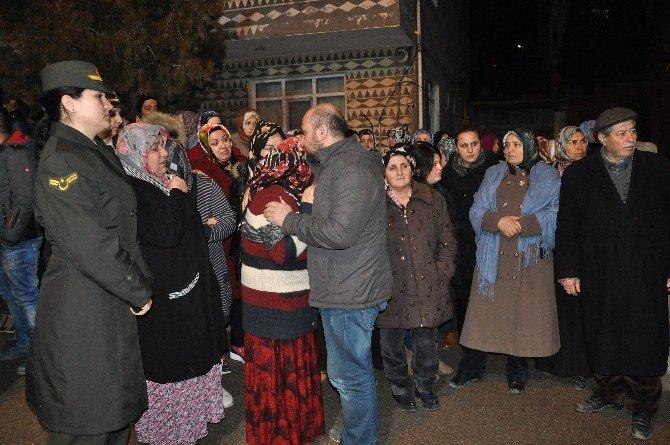 Şehit Uzman Çavuş Alsancak'ın Cenazesi Baba Ocağına Getirildi