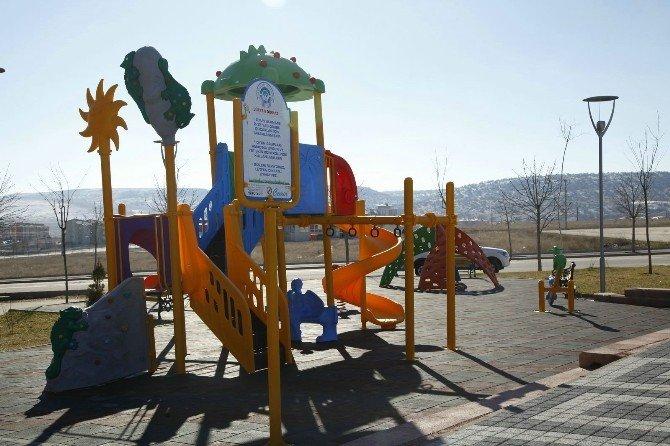 Engellilere Özel 'Engelsiz Park'