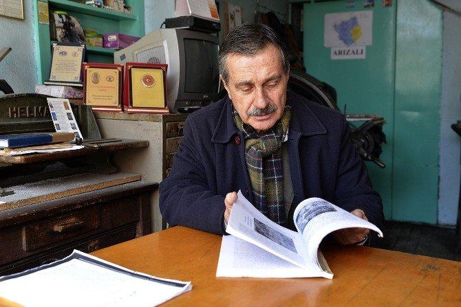 Ataç Sivrihisar'ın Sesi Gazetesi'ni Ziyaret Etti