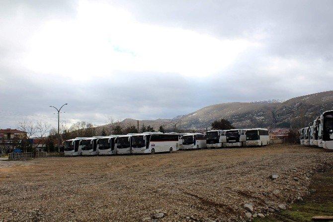 İnönü Belediyesi'nin Yeni Ücretsiz Otoparkı Hizmete Açıldı