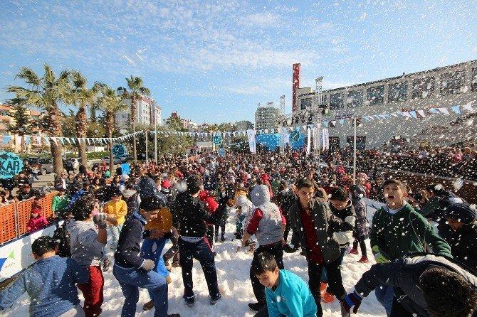 Forum Mersin'deki Kar Festivali Sona Erdi