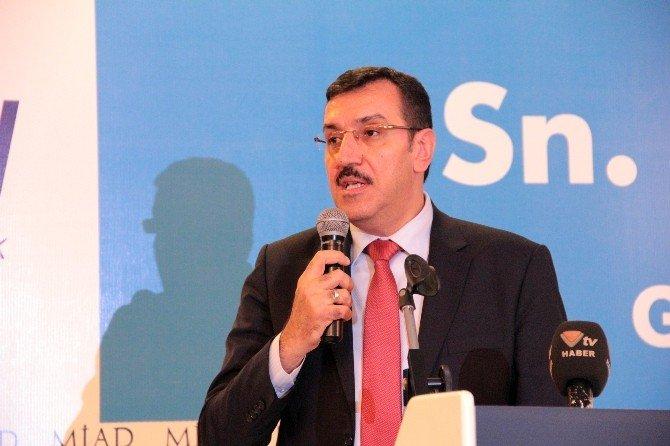 """Bakan Tüfenkci: """"Gümrük İşlemlerini TEK Elde Toplamak İçin Elektronik Veri Bankası Oluşturuyoruz''"""