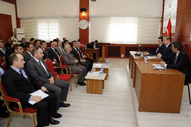 Gümüşhane'de İl Su Yönetimi Koordinasyon Toplantısı Yapıldı