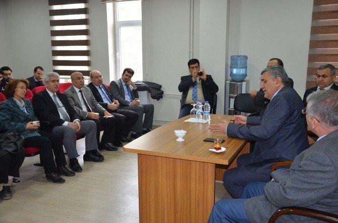 Harran Üniversitesinin Sorunları Tartışıldı
