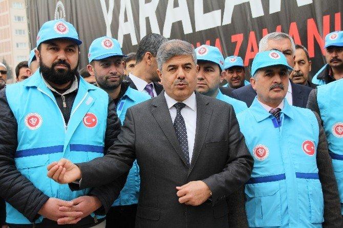 Diyanet Vakfı'ndan Türkmenlere Yardım
