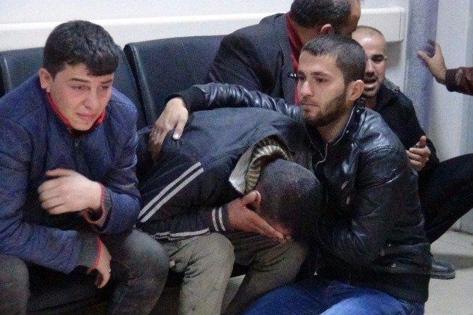 Savaştan Kaçan Suriyeli, Düşen Beton Blokun Altında Kaldı