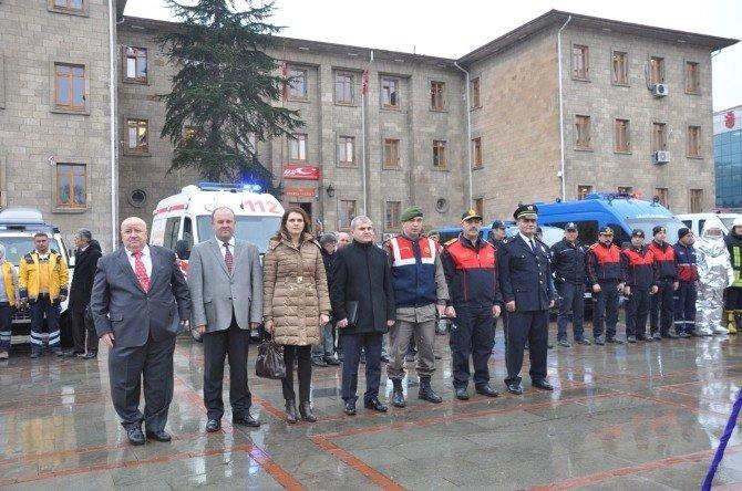 """Isparta'da """"Avrupa 112 Günü"""" Etkinliği"""