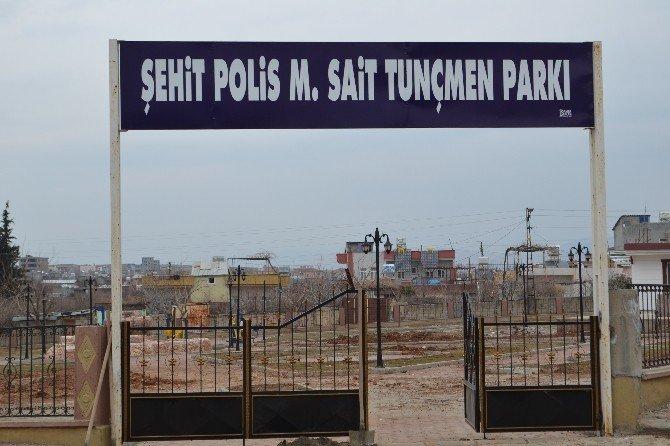 Şehid Polis M. Sait Tunçmen Parkı Yenileniyor