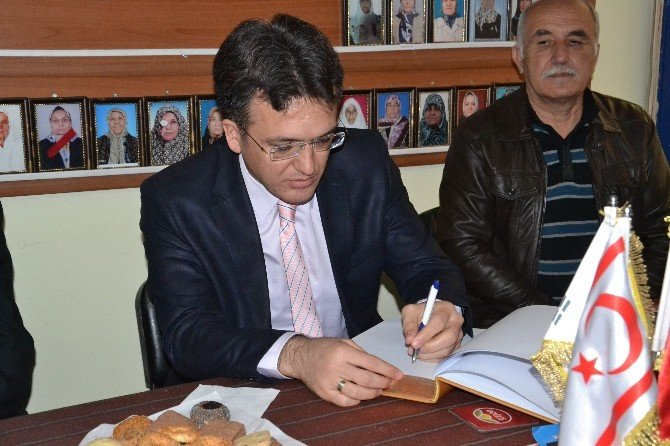 Karacasu Kaymakamı Gül'den Muharip Gazilere Ziyaret