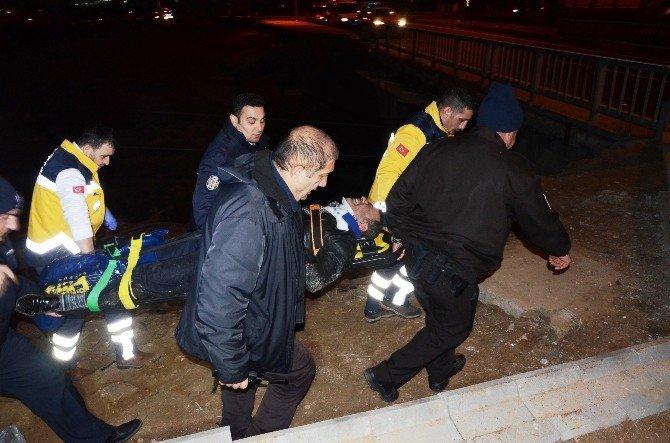 Hız Ve Alkol Beraberinde Kazayı Getirdi: 3 Yaralı