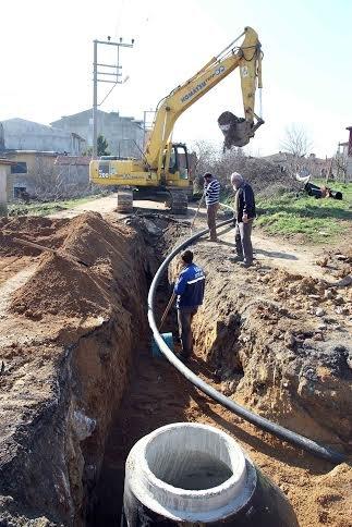 Gebze'de 3 mahalleye 34 kilometre altyapı