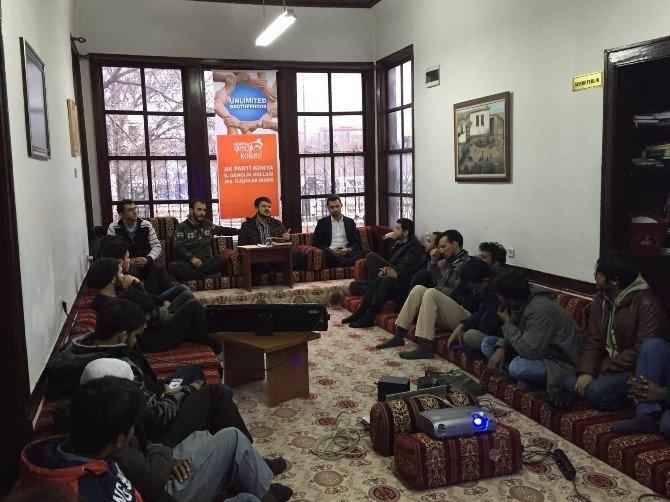 "Konya AK Gençlik'ten ""Limitsiz Kardeşlik"" Programı"