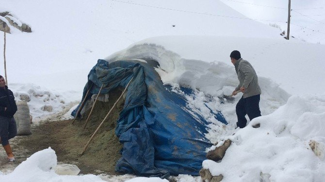 Köylülerin Kış Çilesi