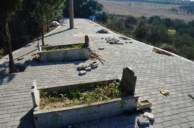 Lapseki'de İki Alatlı Türbeleri Gün Yüzüne Çıktı