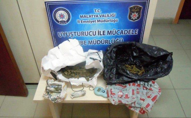 Malatya'da 72 Kilo Esrar Ele Geçirildi: 1 Tutuklama