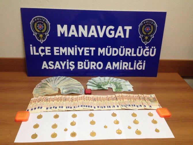 Dolar, Euro ve altın çalan zanlı mahkemece serbest bırakıldı