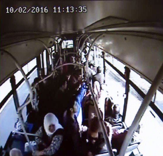 Fenalaşan Yolcu Belediye Otobüsüyle Hastaneye Götürüldü