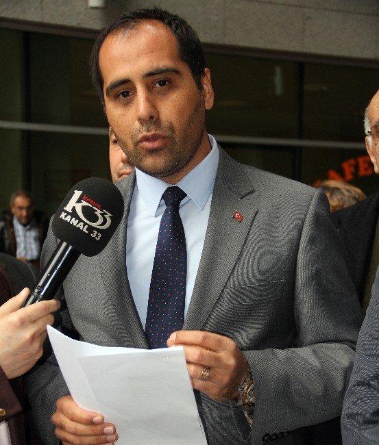 AK Parti Mezitli İlçe Teşkilatı'ndan Kılıçdaroğlu Hakkında Suç Duyurusu