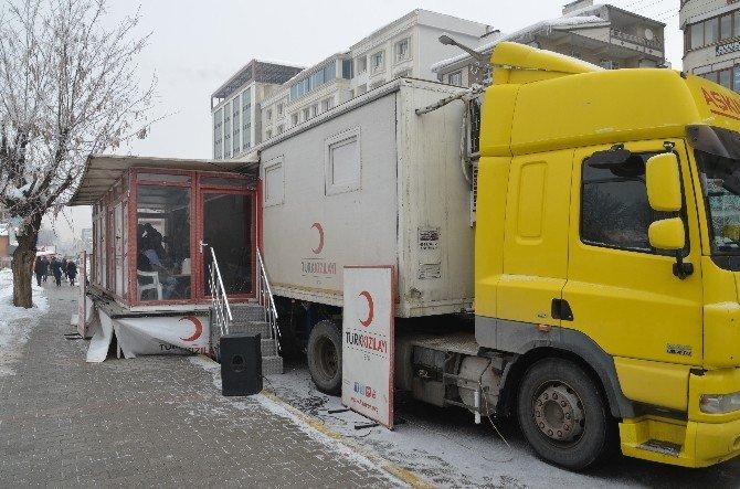 Soğuk Hava Kızılay Kan Bağışını Olumsuz Etkiledi