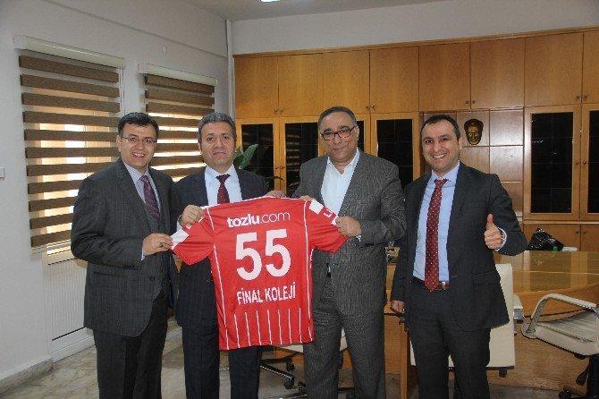 Samsunspor'dan Final'e Teşekkür Ziyareti