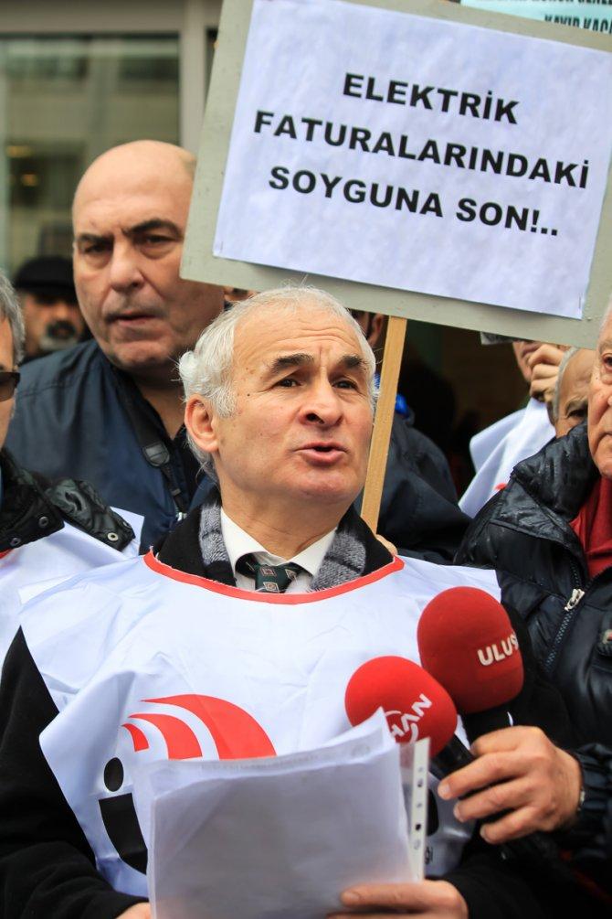 Enerjisa'ya faturalı protesto