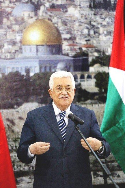 """Filistin Devlet Başkanı Abbas: """"TİKA'nın Filistin Halkına Sağladığı Hizmetleri Takdirle Karşılıyorum"""""""