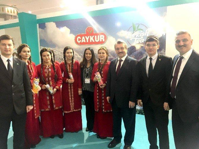 ÇAYKUR Türkmenistan'da Türk Çayını Tanıttı